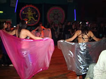 Lawanna belly dancers
